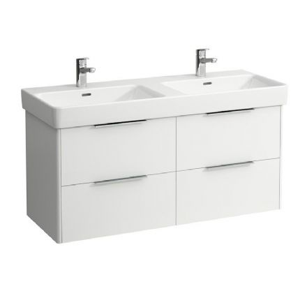 814966 - Laufen Pro S 1200mm x 460mm Double Washbasin & Base Vanity Unit - 8.1496.6